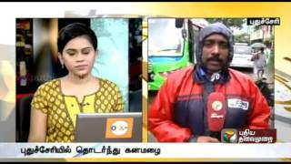 Live report: Damages due to rain in Pondicherry