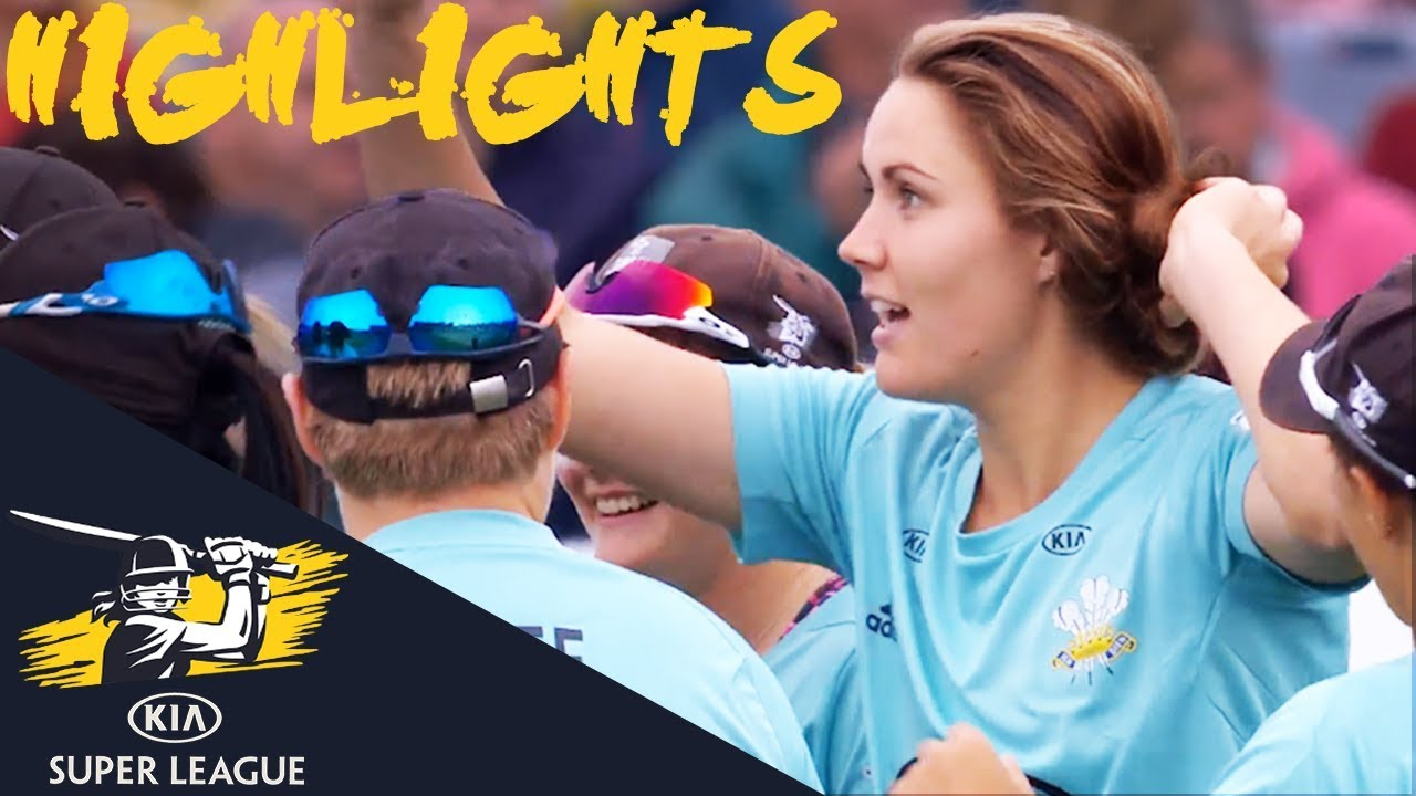 Dramatic Semi-Final Goes To Down To Final Over   Stars v Storm   Kia Super League 2018 - Highlights