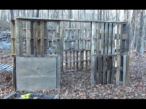 Building A Pallet Wood Sugar Shack