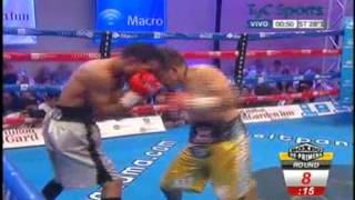 Omar NARVAEZ vs David QUIJANO - WBO - Full Fight - Pelea Completa