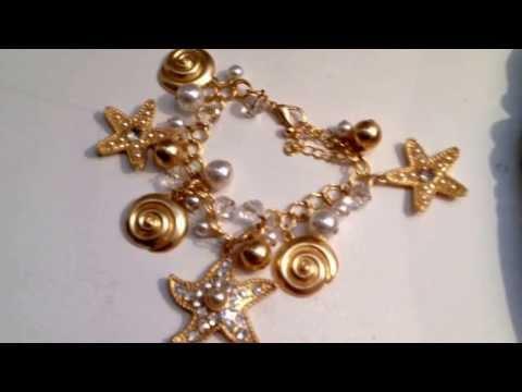Starfish Charm Bracelets Collection