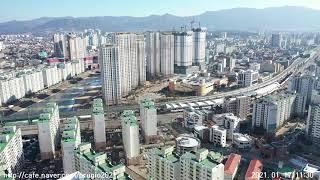춘천 센트럴파크 푸르지오 조망_20210117