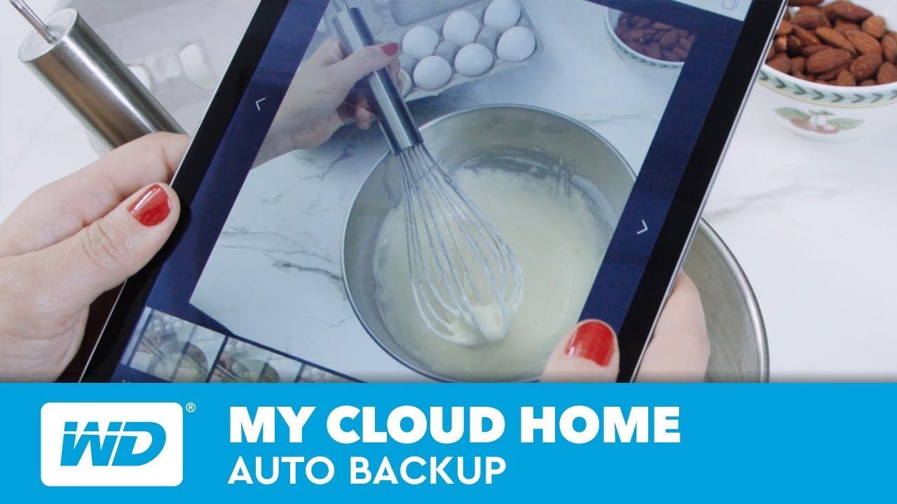 My Cloud Home Auto Backup Youtube