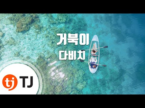Turtle 거북이_Davichi 다비치_TJ노래방 (Karaoke/lyrics/romanization/KOREAN)