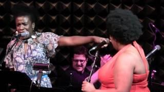 "Uzo Aduba & Celisse Henderson - ""Solid Silver Platform Shoes"" Godspell Sings Schwartz"