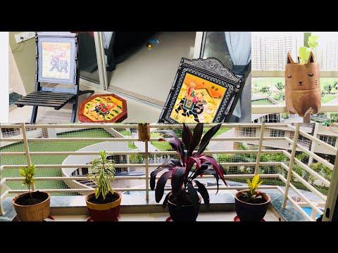 Balcony Decor Ideas / Balcony Tour / Balcony Organization / How to decorate a Balcony