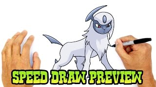 Absol (Pokemon)- Speed Draw Preview