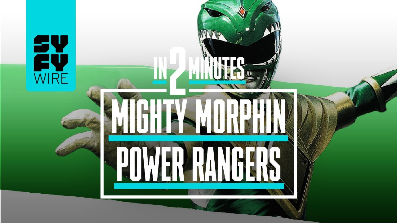 Mighty Morphin Power Rangers In 2 Minutes | SYFY WIRE