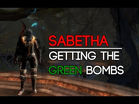 GW2 - How to get the green bombs at Sabetha