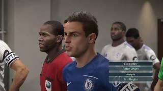 Premier League: Chelsea vs Cardiff City (PES 2019 Simulation)