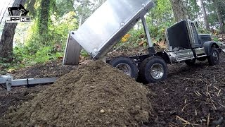 JRP RC - Tamiya King Hauler Dump Truck Blows Transmission