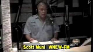 Scott Muni WNEW Radio New York 1991