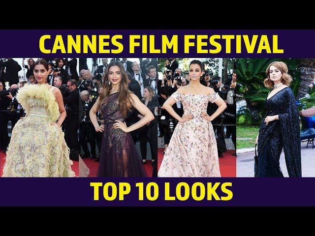 Deepika Padukone, Aishwarya Rai Bachchan, Sonam Kapoor | TOP 10 LOOKS From Cannes Film Festival