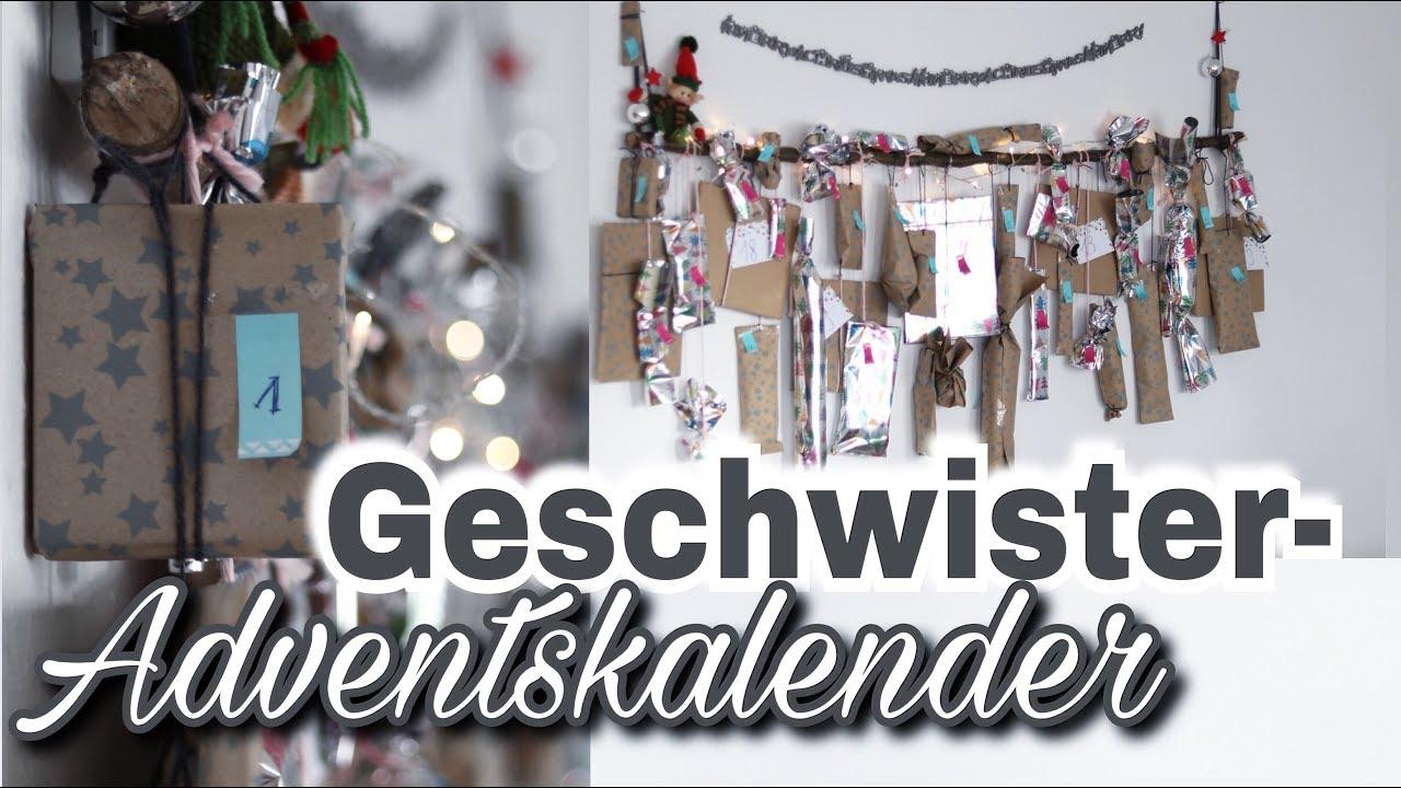 GESCHWISTER-Adventskalender DIY│Ideen zum befüllen