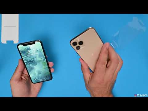 Распаковка и тест камеры Iphone11 Pro