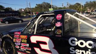 Riding in a REAL NASCAR truck with Cleetus