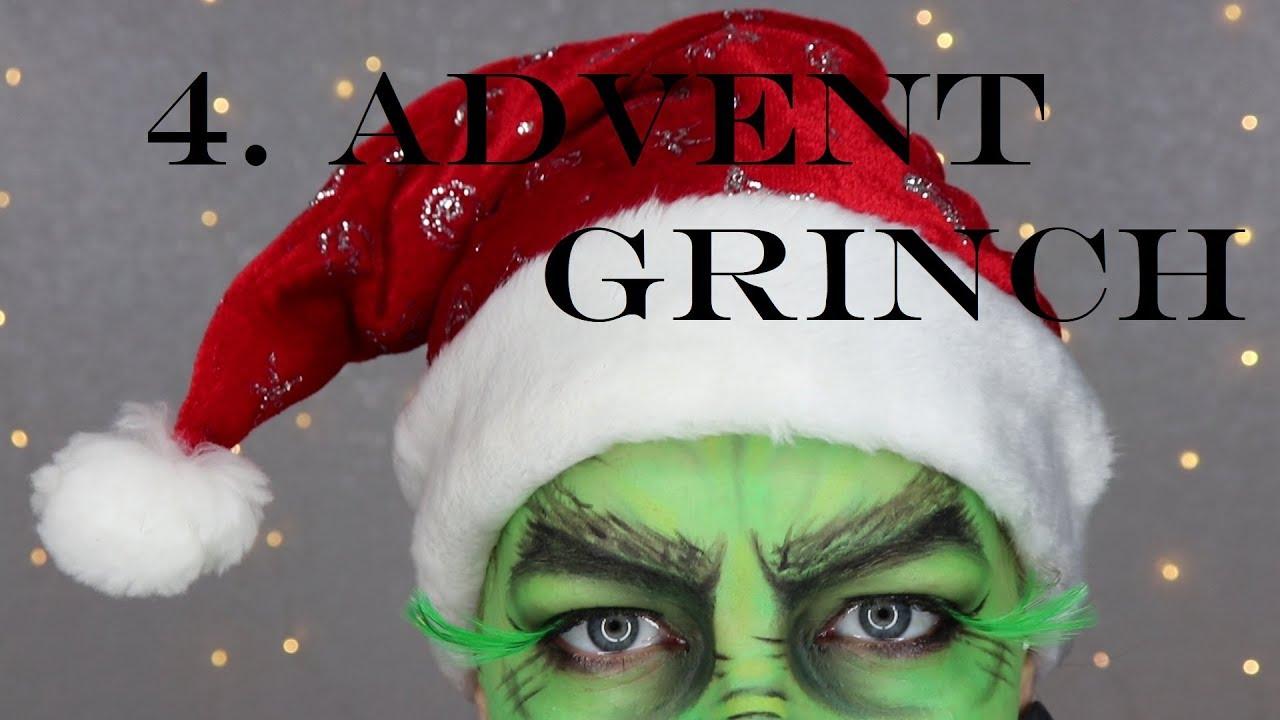 Make Up Weihnachtskalender.Grinch Make Up Adventskalender 2018