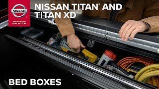 Nissan TITAN Truck Bed Storage