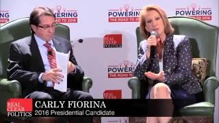 Carly Fiorina Slams Hillary Clinton for Pay Gap Hypocrisy