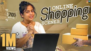 Online Shopping Scenes || Mahathalli || Tamada Media