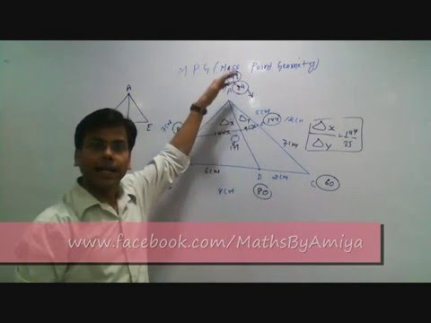 Mother of all concepts : MPG Mass Point Geometry 0 - Basic Intro