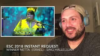 Esc Instant Request - Netta  Winner 2018 Israel  - Sing Hallelujah