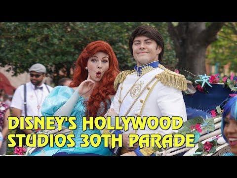 30th Anniversary Parade and New Logo at Disney's Hollywood Studios - Walt Disney World
