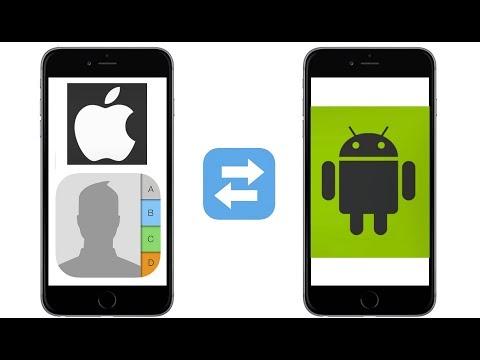Как Перенести Контакты с Айфона на Андроид..?  iOS  ➢ Android