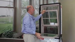 Tuscany Double Hung Windows