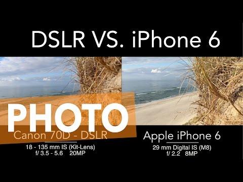 Iphone 6 camera vs dslr canon 70d