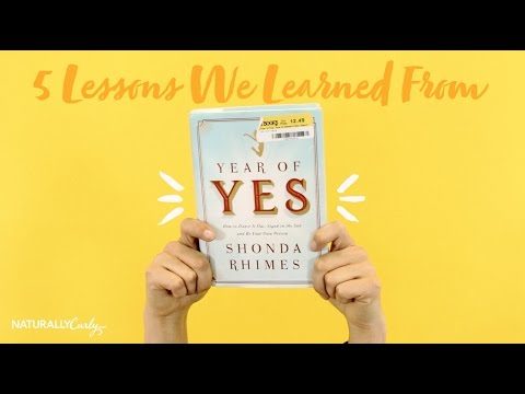"5 Lessons We Learned From ""Year Of Yes"" by Shonda Rhimes"