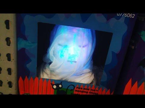Hanging Kaleidoscope Female Ghost | Gemmy Halloween 2016
