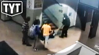New Footage Of Police Beating Female Student