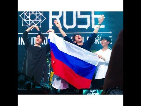 THE ROSE (더 로즈) IN MOSCOW 18.02.2018 г.