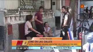 Hugo Arana filma con actores cordobeses - Noticiero Doce