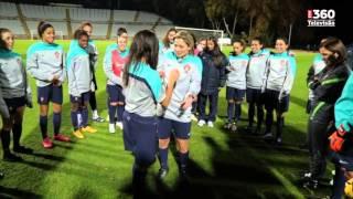 Telma Monteiro treinou com a Seleção Nacional A feminina