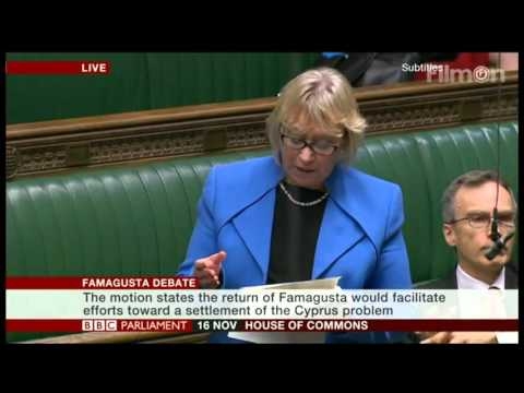 House of Commons is debating a motion on Famagusta