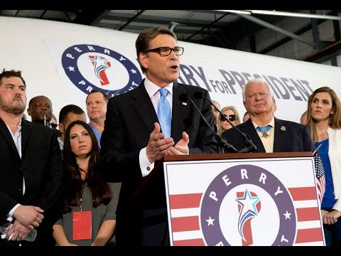Perry Makes 2016 Presidential Bid Official