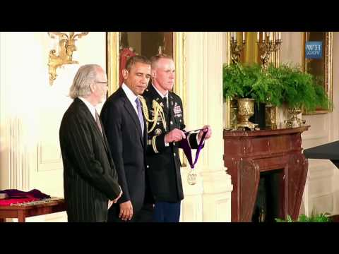 Herb Alpert & President Obama - The 2012 National Medal of Arts and Humanities