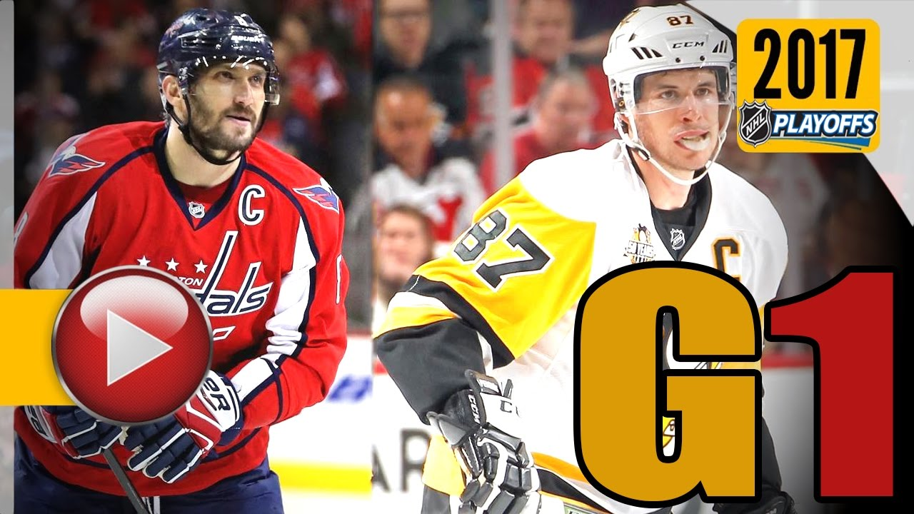 Pittsburgh Penguins vs Washington Capitals. 2017 NHL Playoffs. Round 2.  Game 1. 04.27.2017 (HD) bd07072dd77
