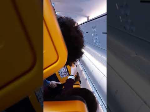 07/03/2017 Severe Turbulences Ryanair flight FR1435 Dublin to Brussels