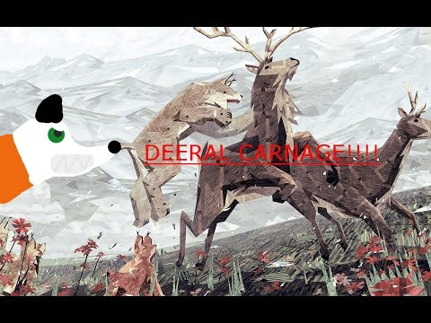 Shelter 2 ~ WOLF CHASE!?!? DEERAL CARNAGE!?!? SABER TOOTH CAT DEN!?!?!?!?