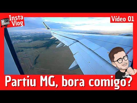 ✈InstaVlog em MG: Explorando Belo Horizonte, Brumadinho e Ouro Preto | 01/04 ( Minas Gerais )