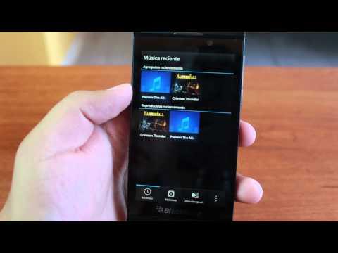 BlackBerry Z10, unboxing y review en español