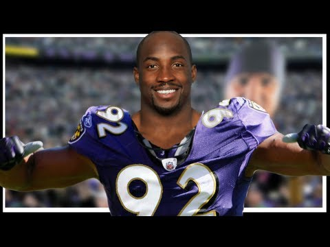 Elvis Dumervil to Ravens