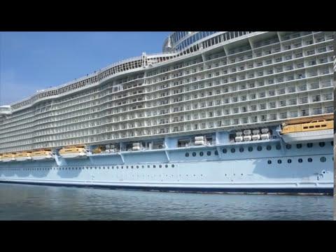 Oasis of the Seas à Barcelone et record de trafic
