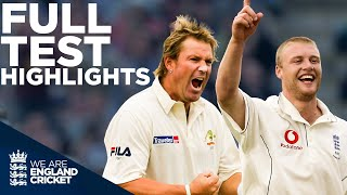 England Win By 2 Runs In An All Time Classic | England v Australia Full Test HIGHLIGHTS - 2005 Ashes