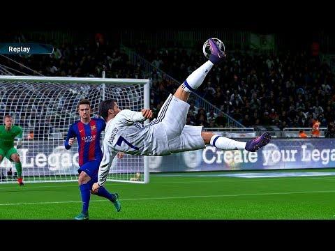 """PES 2017 Goals & Skills """"6"""""""
