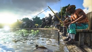 ark survival evolved patch 245 pelagornis allosaurus angeln vieles mehr official trailer