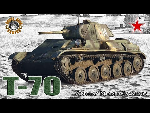 War Thunder: T-70, Russian, Tier-1, Light Tank
